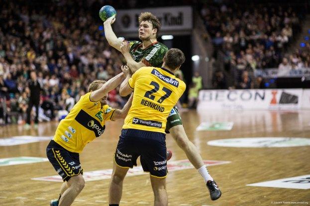 DKB Bundesliga Handball 14.12.2014 Füchse Berlin - Rhein-Neckar Löwen,J.Radtke,www.pixxxel (133)