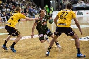 DKB Bundesliga Handball 14.12.2014 Füchse Berlin - Rhein-Neckar Löwen,J.Radtke,www.pixxxel (134)