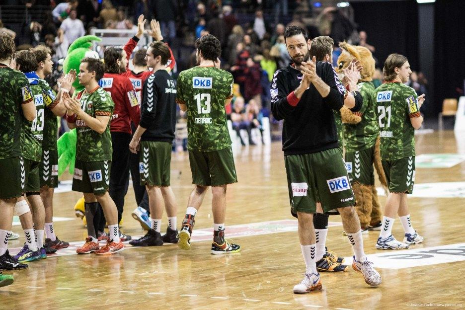 DKB Bundesliga Handball 14.12.2014 Füchse Berlin - Rhein-Neckar Löwen,J.Radtke,www.pixxxel (147)