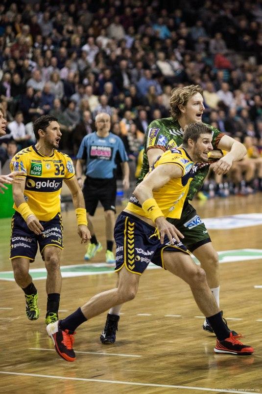 DKB Bundesliga Handball 14.12.2014 Füchse Berlin - Rhein-Neckar Löwen,J.Radtke,www.pixxxel (38)