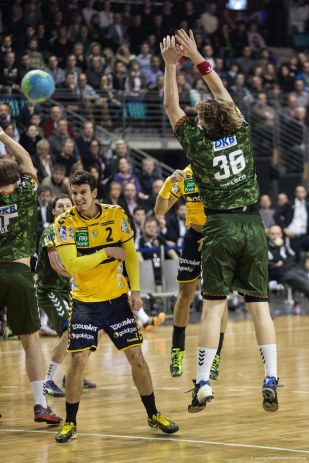 DKB Bundesliga Handball 14.12.2014 Füchse Berlin - Rhein-Neckar Löwen,J.Radtke,www.pixxxel (45)