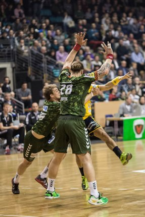 DKB Bundesliga Handball 14.12.2014 Füchse Berlin - Rhein-Neckar Löwen,J.Radtke,www.pixxxel (51)