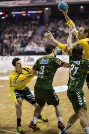 DKB Bundesliga Handball 14.12.2014 Füchse Berlin - Rhein-Neckar Löwen,J.Radtke,www.pixxxel (54)