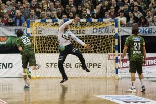 DKB Bundesliga Handball 14.12.2014 Füchse Berlin - Rhein-Neckar Löwen,J.Radtke,www.pixxxel (59)
