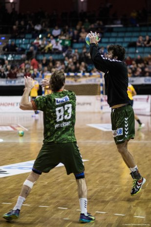 DKB Bundesliga Handball 14.12.2014 Füchse Berlin - Rhein-Neckar Löwen,J.Radtke,www.pixxxel (6)