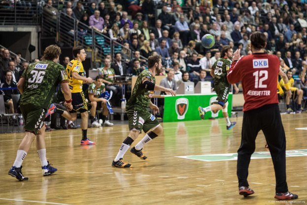 DKB Bundesliga Handball 14.12.2014 Füchse Berlin - Rhein-Neckar Löwen,J.Radtke,www.pixxxel (61)