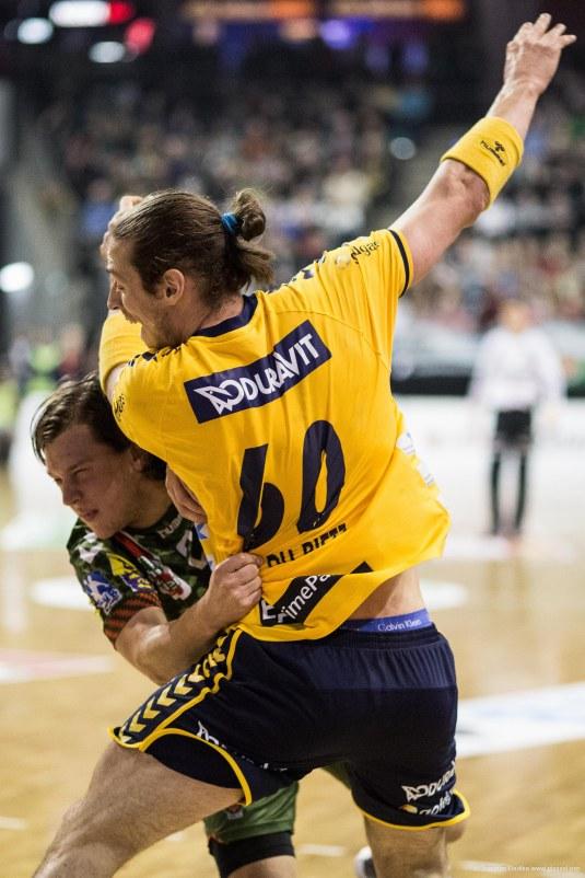 DKB Bundesliga Handball 14.12.2014 Füchse Berlin - Rhein-Neckar Löwen,J.Radtke,www.pixxxel (67)