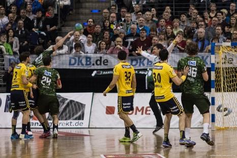 DKB Bundesliga Handball 14.12.2014 Füchse Berlin - Rhein-Neckar Löwen,J.Radtke,www.pixxxel (68)