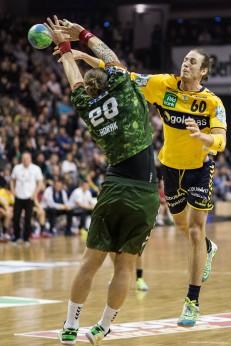 DKB Bundesliga Handball 14.12.2014 Füchse Berlin - Rhein-Neckar Löwen,J.Radtke,www.pixxxel (73)