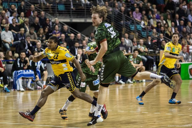 DKB Bundesliga Handball 14.12.2014 Füchse Berlin - Rhein-Neckar Löwen,J.Radtke,www.pixxxel (79)