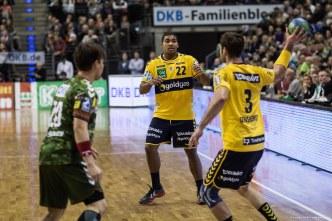 DKB Bundesliga Handball 14.12.2014 Füchse Berlin - Rhein-Neckar Löwen,J.Radtke,www.pixxxel (88)