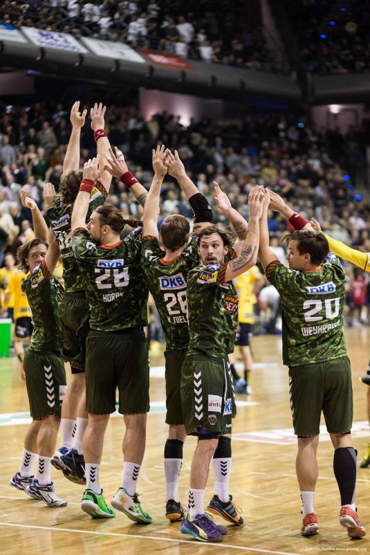 DKB Bundesliga Handball 14.12.2014 Füchse Berlin - Rhein-Neckar Löwen,J.Radtke,www.pixxxel (91)