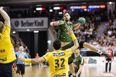 DKB Bundesliga Handball 14.12.2014 Füchse Berlin - Rhein-Neckar Löwen,J.Radtke,www.pixxxel (93)