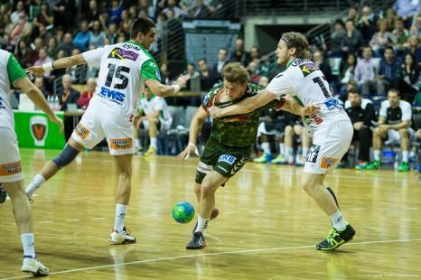DKB Bundesliga Handball 23.12.2014 Füchse Berlin - Frisch Auf! Göppingen ,J.Radtke,www.pixxxel (10)