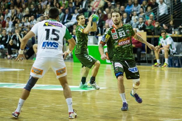 DKB Bundesliga Handball 23.12.2014 Füchse Berlin - Frisch Auf! Göppingen ,J.Radtke,www.pixxxel (11)