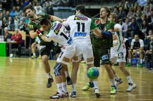 DKB Bundesliga Handball 23.12.2014 Füchse Berlin - Frisch Auf! Göppingen ,J.Radtke,www.pixxxel (12)