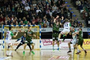 DKB Bundesliga Handball 23.12.2014 Füchse Berlin - Frisch Auf! Göppingen ,J.Radtke,www.pixxxel (13)
