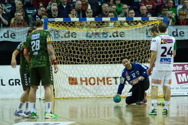 DKB Bundesliga Handball 23.12.2014 Füchse Berlin - Frisch Auf! Göppingen ,J.Radtke,www.pixxxel (14)