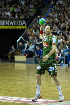 DKB Bundesliga Handball 23.12.2014 Füchse Berlin - Frisch Auf! Göppingen ,J.Radtke,www.pixxxel (15)
