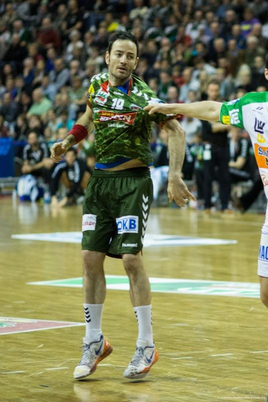 DKB Bundesliga Handball 23.12.2014 Füchse Berlin - Frisch Auf! Göppingen ,J.Radtke,www.pixxxel (16)