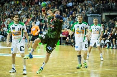 DKB Bundesliga Handball 23.12.2014 Füchse Berlin - Frisch Auf! Göppingen ,J.Radtke,www.pixxxel (18)