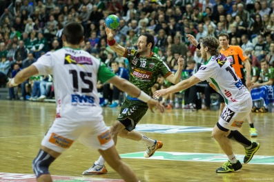 DKB Bundesliga Handball 23.12.2014 Füchse Berlin - Frisch Auf! Göppingen ,J.Radtke,www.pixxxel (19)