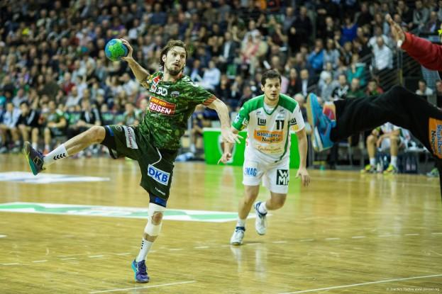 DKB Bundesliga Handball 23.12.2014 Füchse Berlin - Frisch Auf! Göppingen ,J.Radtke,www.pixxxel (22)