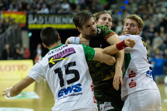 DKB Bundesliga Handball 23.12.2014 Füchse Berlin - Frisch Auf! Göppingen ,J.Radtke,www.pixxxel (33)