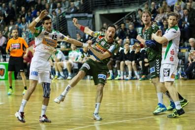 DKB Bundesliga Handball 23.12.2014 Füchse Berlin - Frisch Auf! Göppingen ,J.Radtke,www.pixxxel (36)