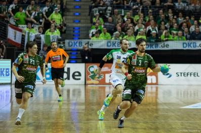 DKB Bundesliga Handball 23.12.2014 Füchse Berlin - Frisch Auf! Göppingen ,J.Radtke,www.pixxxel (37)