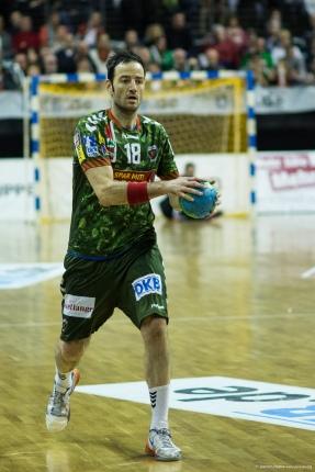 DKB Bundesliga Handball 23.12.2014 Füchse Berlin - Frisch Auf! Göppingen ,J.Radtke,www.pixxxel (39)