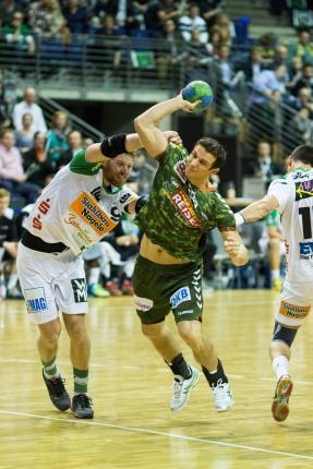 DKB Bundesliga Handball 23.12.2014 Füchse Berlin - Frisch Auf! Göppingen ,J.Radtke,www.pixxxel (45)