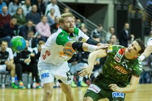 DKB Bundesliga Handball 23.12.2014 Füchse Berlin - Frisch Auf! Göppingen ,J.Radtke,www.pixxxel (46)