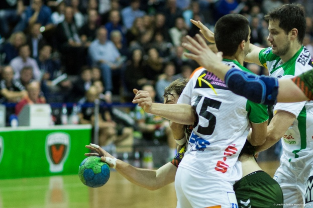 DKB Bundesliga Handball 23.12.2014 Füchse Berlin - Frisch Auf! Göppingen ,J.Radtke,www.pixxxel (48)