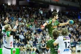 DKB Bundesliga Handball 23.12.2014 Füchse Berlin - Frisch Auf! Göppingen ,J.Radtke,www.pixxxel (51)