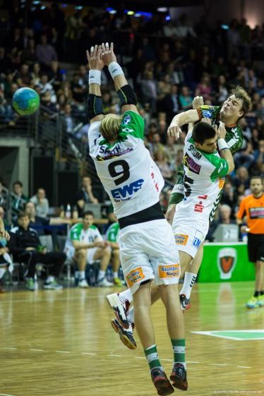 DKB Bundesliga Handball 23.12.2014 Füchse Berlin - Frisch Auf! Göppingen ,J.Radtke,www.pixxxel (52)