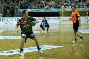 DKB Bundesliga Handball 23.12.2014 Füchse Berlin - Frisch Auf! Göppingen ,J.Radtke,www.pixxxel (57)