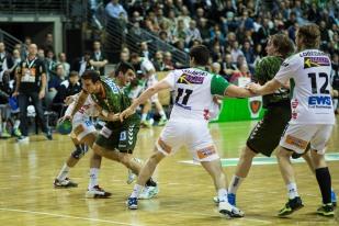 DKB Bundesliga Handball 23.12.2014 Füchse Berlin - Frisch Auf! Göppingen ,J.Radtke,www.pixxxel (58)