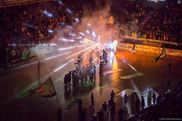 DKB Bundesliga Handball 23.12.2014 Füchse Berlin - Frisch Auf! Göppingen ,J.Radtke,www.pixxxel (6)