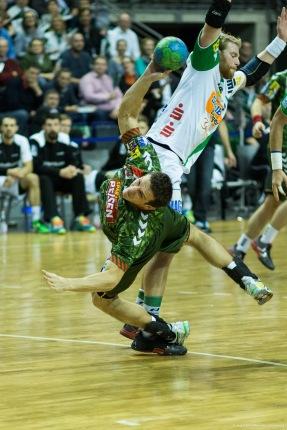 DKB Bundesliga Handball 23.12.2014 Füchse Berlin - Frisch Auf! Göppingen ,J.Radtke,www.pixxxel (60)
