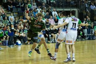 DKB Bundesliga Handball 23.12.2014 Füchse Berlin - Frisch Auf! Göppingen ,J.Radtke,www.pixxxel (62)