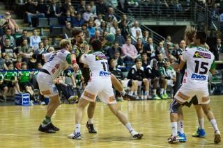 DKB Bundesliga Handball 23.12.2014 Füchse Berlin - Frisch Auf! Göppingen ,J.Radtke,www.pixxxel (65)