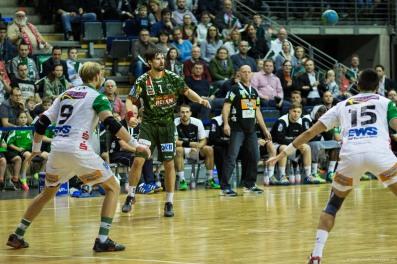 DKB Bundesliga Handball 23.12.2014 Füchse Berlin - Frisch Auf! Göppingen ,J.Radtke,www.pixxxel (70)