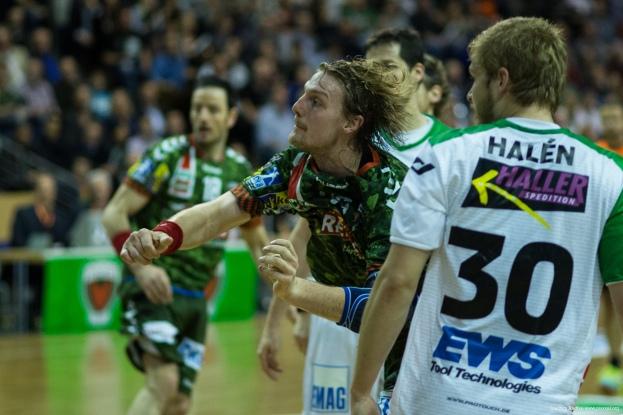 DKB Bundesliga Handball 23.12.2014 Füchse Berlin - Frisch Auf! Göppingen ,J.Radtke,www.pixxxel (73)