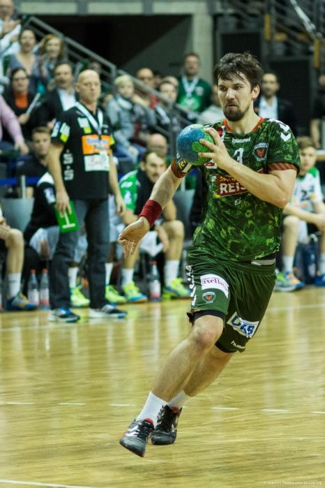 DKB Bundesliga Handball 23.12.2014 Füchse Berlin - Frisch Auf! Göppingen ,J.Radtke,www.pixxxel (76)