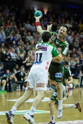 DKB Bundesliga Handball 23.12.2014 Füchse Berlin - Frisch Auf! Göppingen ,J.Radtke,www.pixxxel (79)