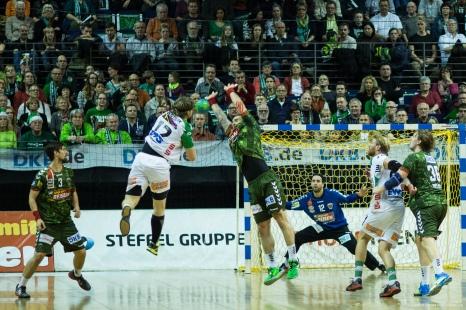 DKB Bundesliga Handball 23.12.2014 Füchse Berlin - Frisch Auf! Göppingen ,J.Radtke,www.pixxxel (8)