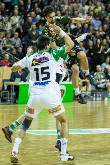 DKB Bundesliga Handball 23.12.2014 Füchse Berlin - Frisch Auf! Göppingen ,J.Radtke,www.pixxxel (80)