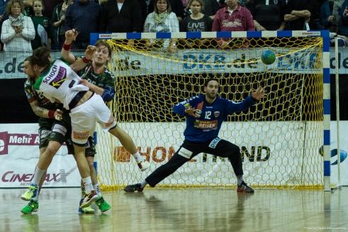 DKB Bundesliga Handball 23.12.2014 Füchse Berlin - Frisch Auf! Göppingen ,J.Radtke,www.pixxxel (81)