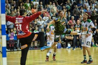 DKB Bundesliga Handball 23.12.2014 Füchse Berlin - Frisch Auf! Göppingen ,J.Radtke,www.pixxxel (87)